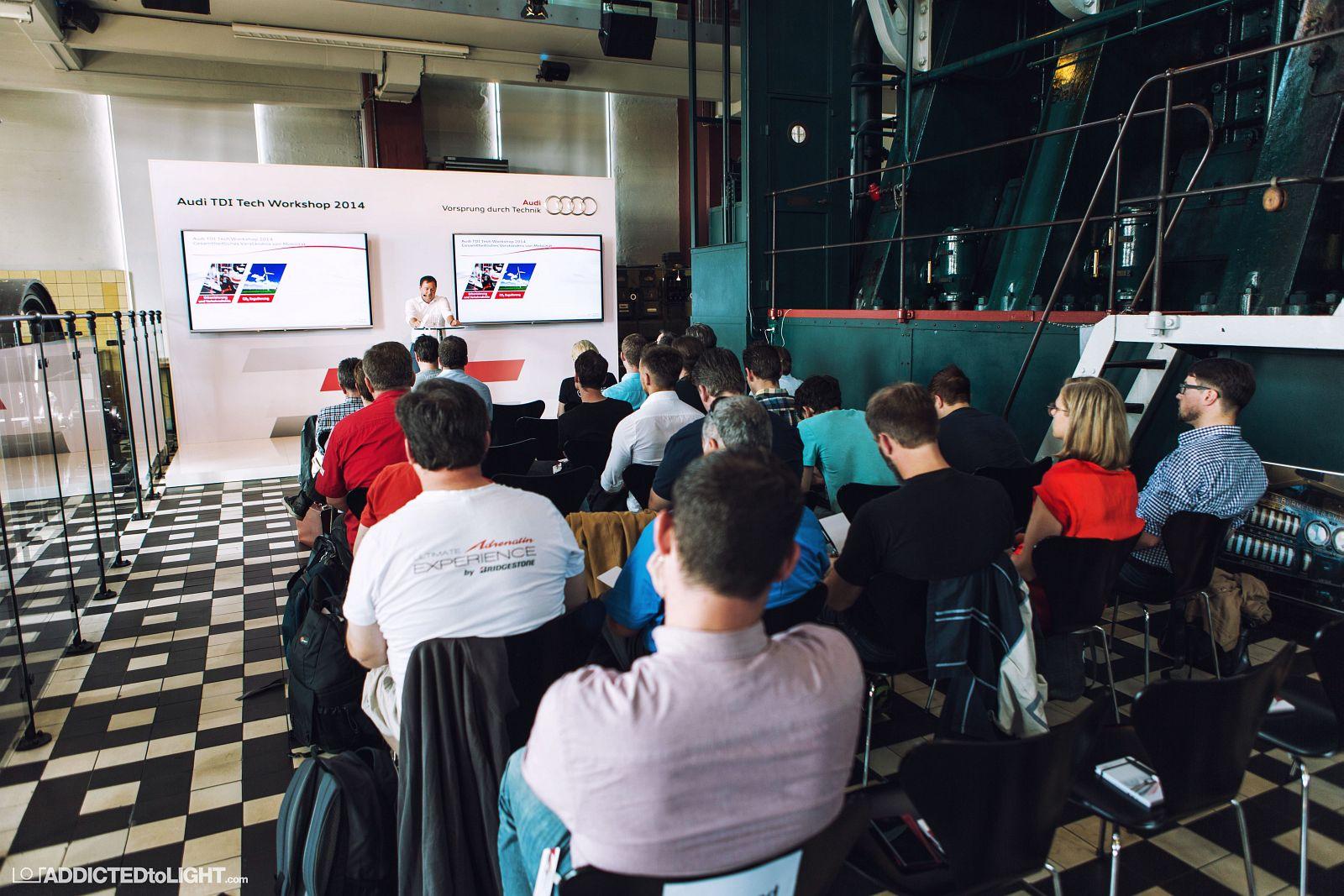 Audi TDI Tech Workshop 004