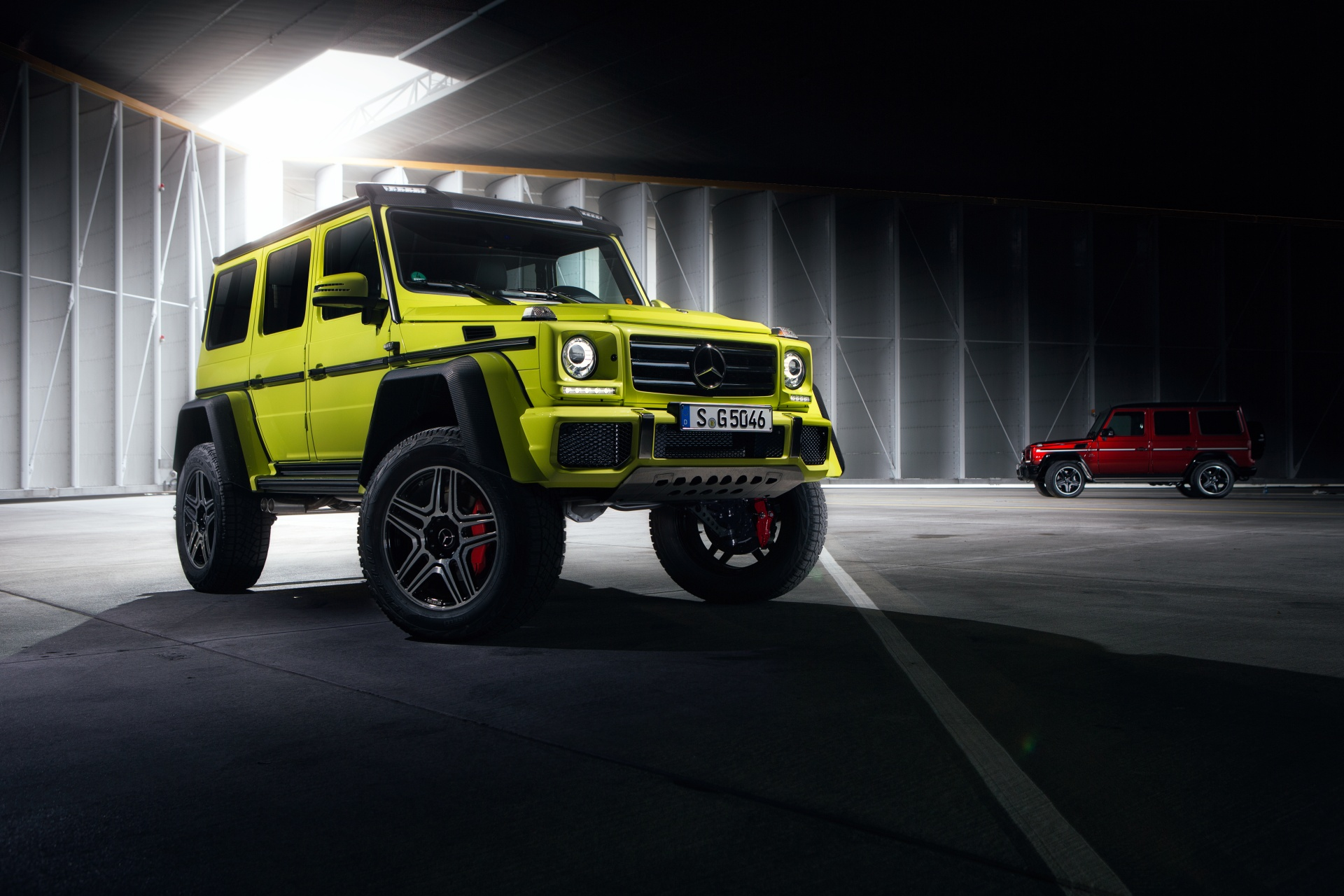 After-Mercedes-Benz G500 4x4²