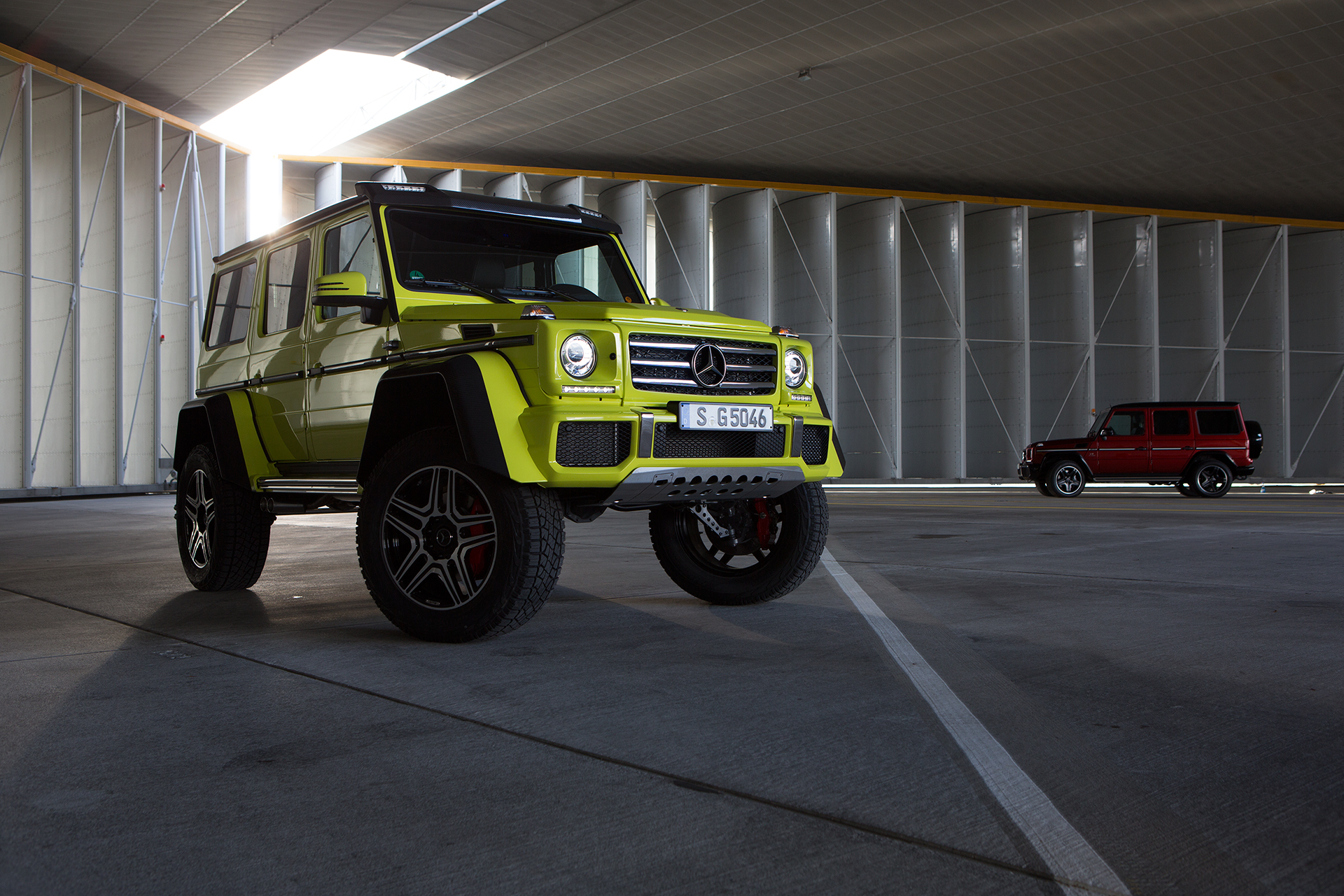 Before-Mercedes-Benz G500 4x4²