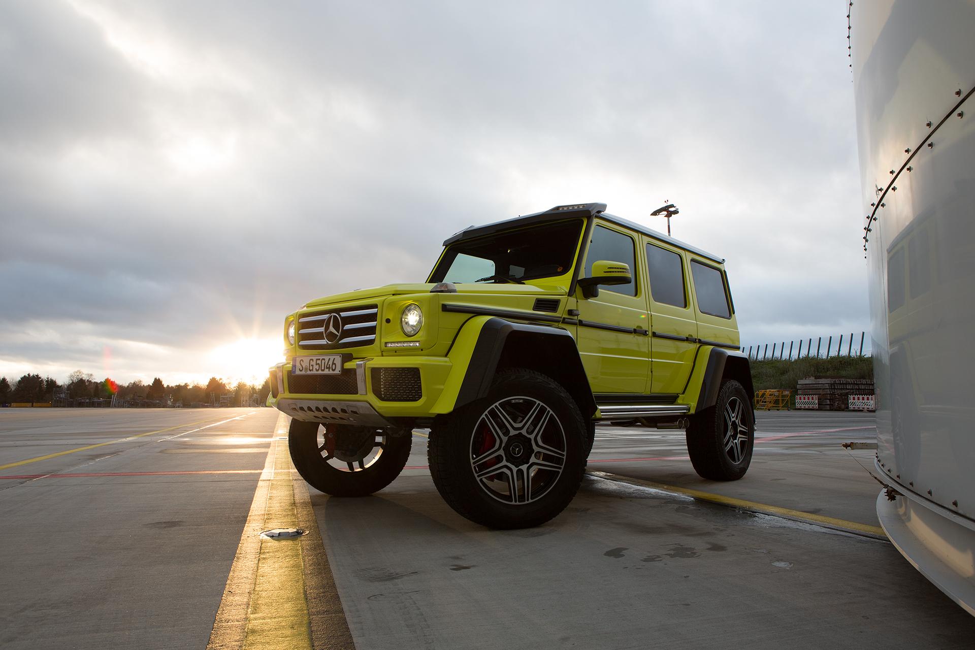 Before-Mercedes-Benz G500 4x4²