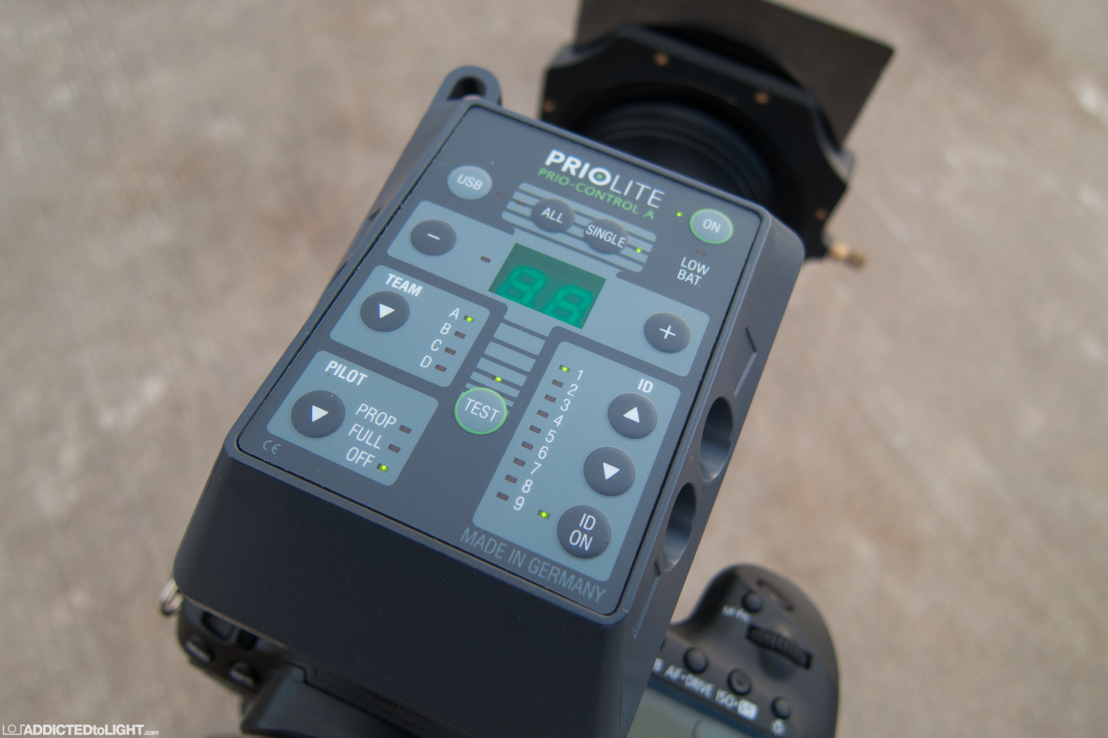Priolite MBX500 Hotsync 010