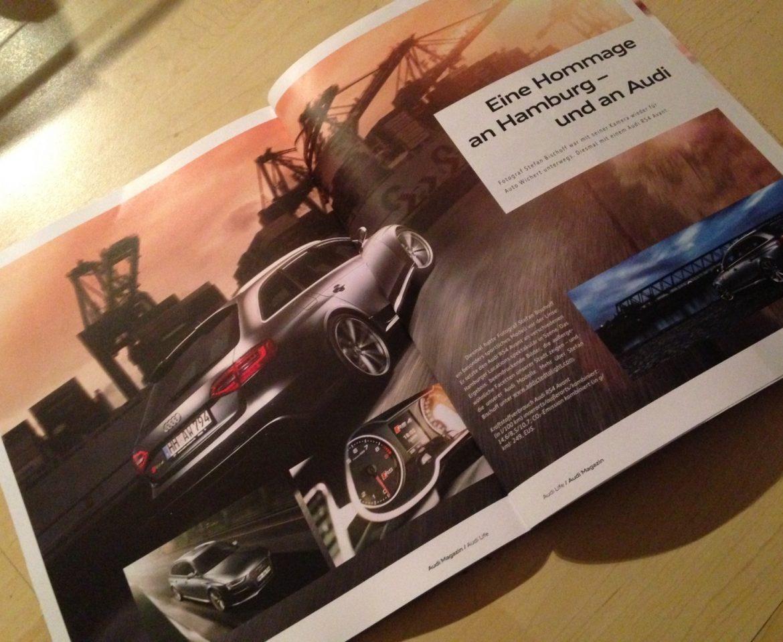 "RS4 Bilder im ""Audi Life"" Magazin"