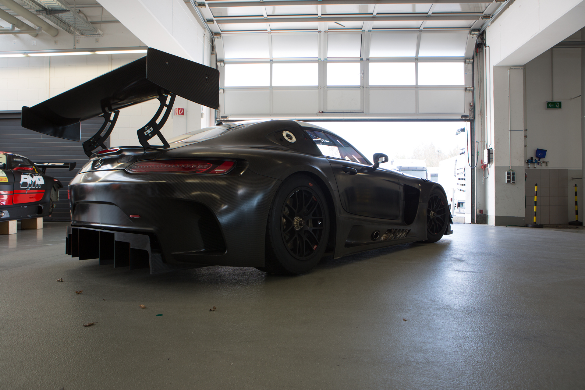 Before-Mercedes-Benz AMG GT3