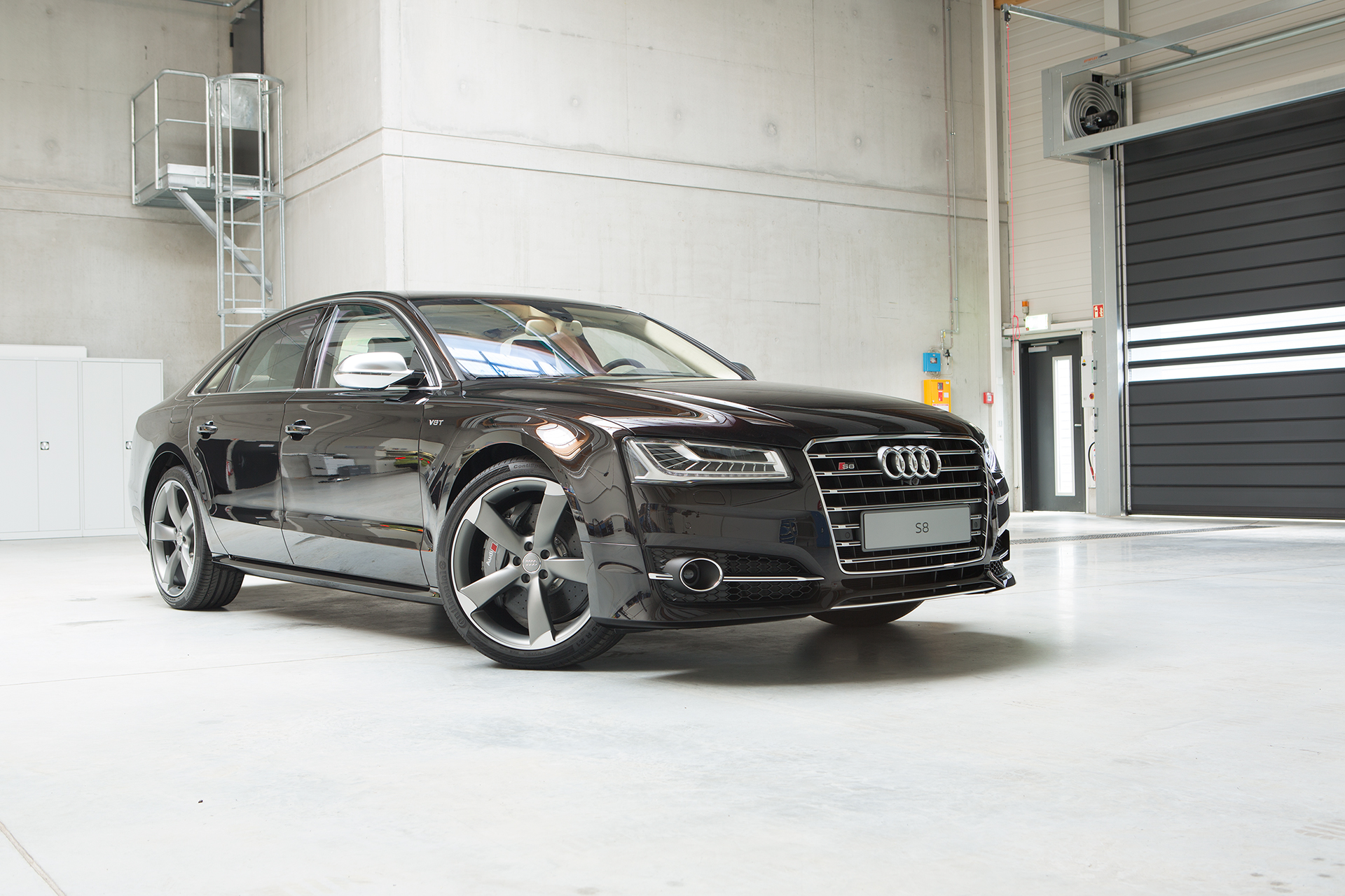 Before-Audi S8