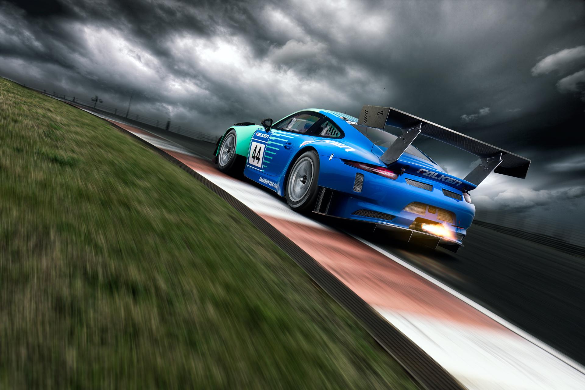 After-Falken Porsche 991 GT3 R
