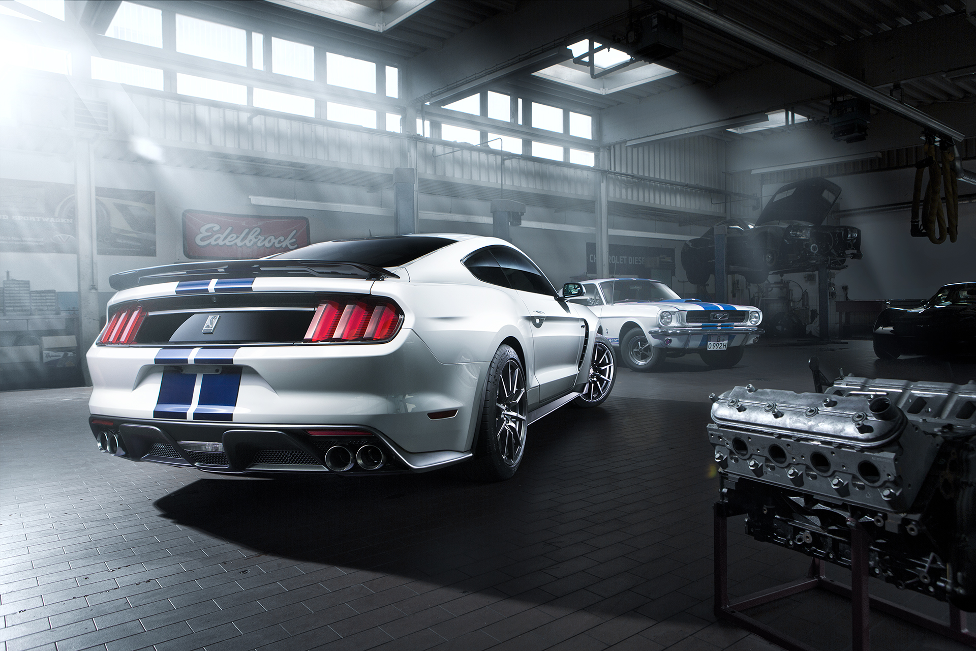 After-Ford Mustang GT350
