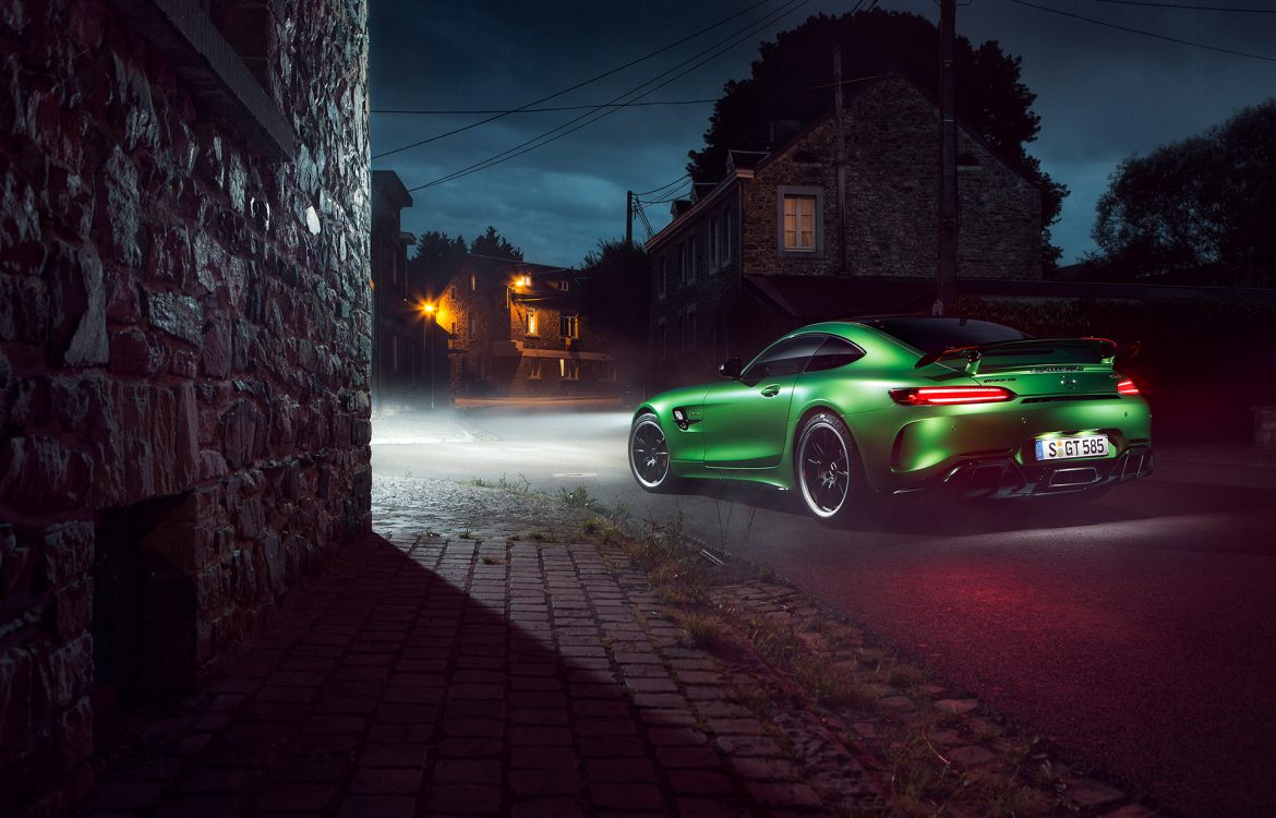 Hinter den Kullissen – AMG GT R Shooting in Spa