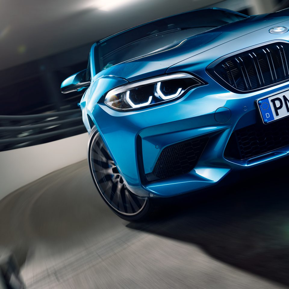 BMW M2 Competition blue